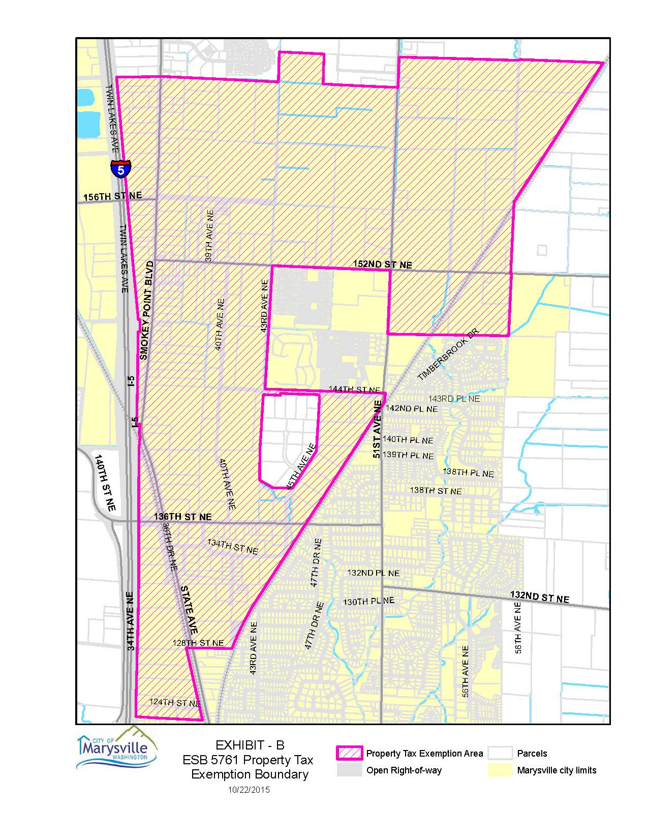 Indusrial Snohomish County Map on