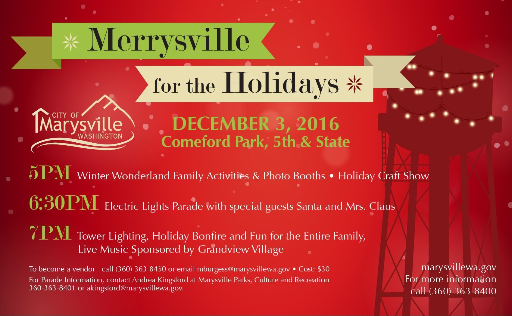 merrysville for the holidays 2016