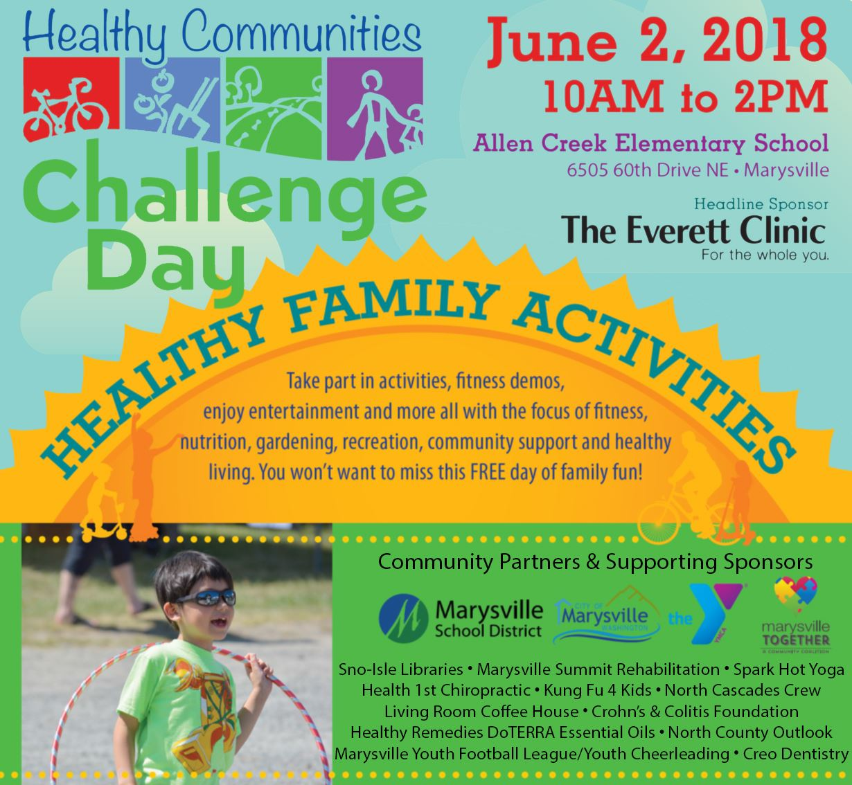 Healthy Communities Challenge Day_Flier with Background