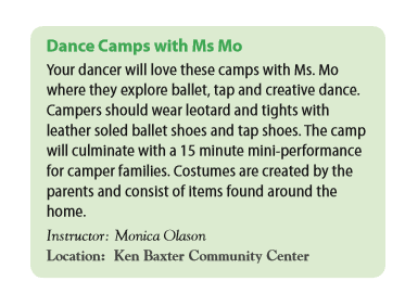 Ms Mo summer camp