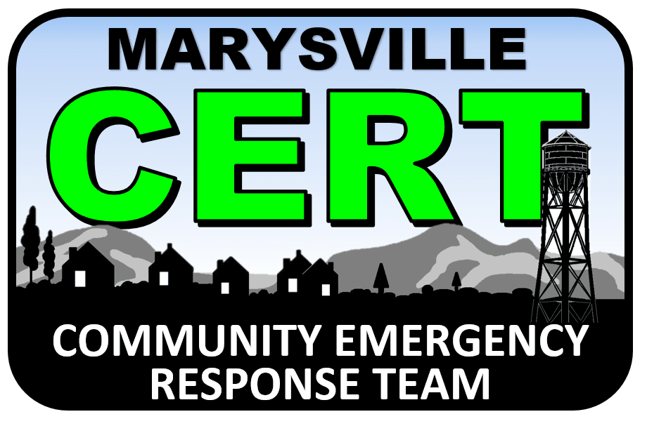 Marysville Community Emergency Response Team logo
