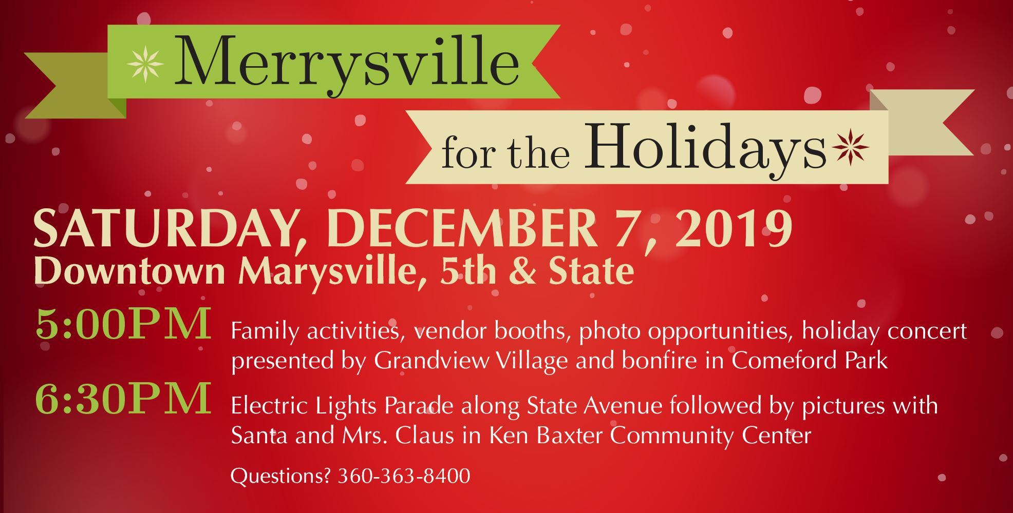 Merrysville for the Holidays - December 7, 2019