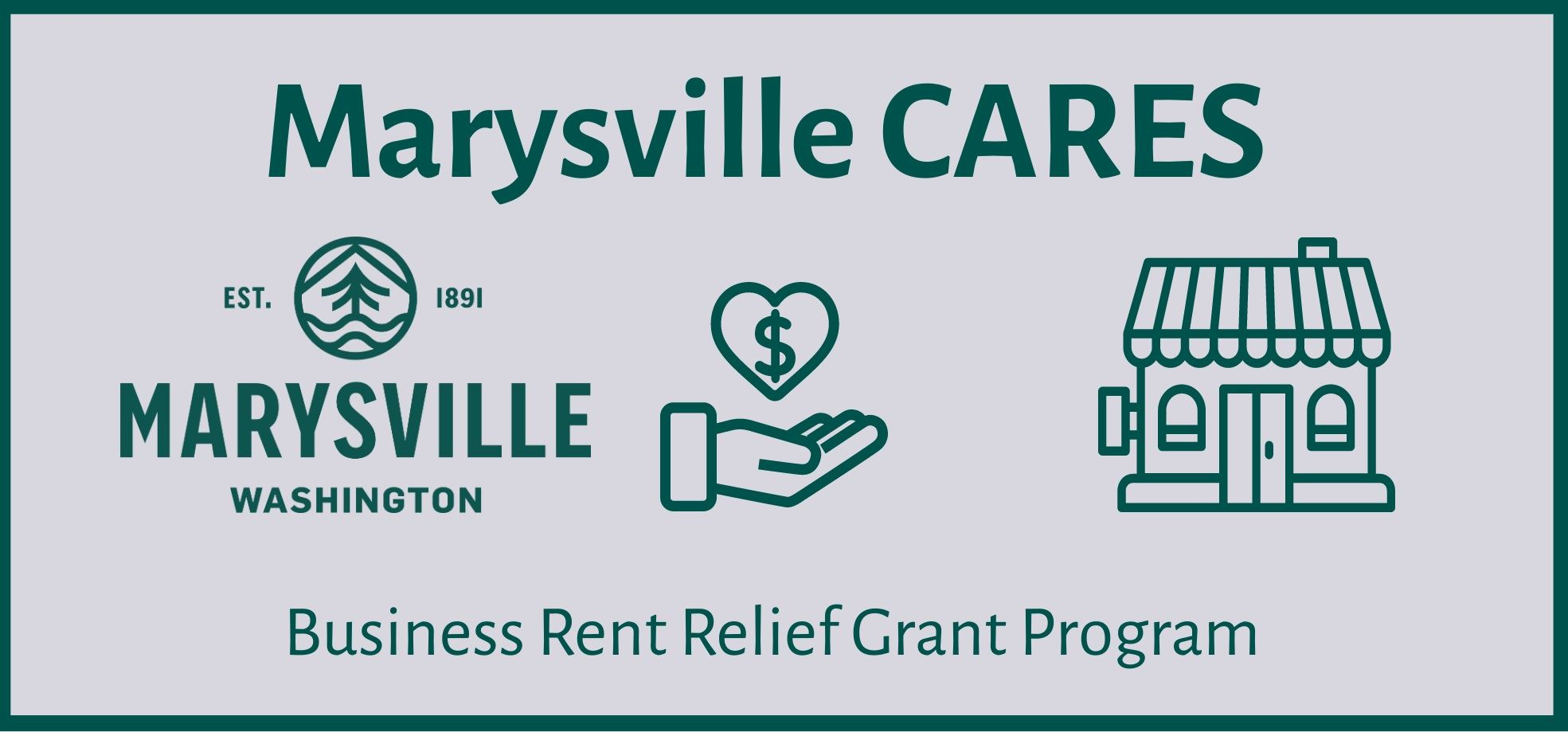 Marysville Cares Business Rent Relief Grant Program