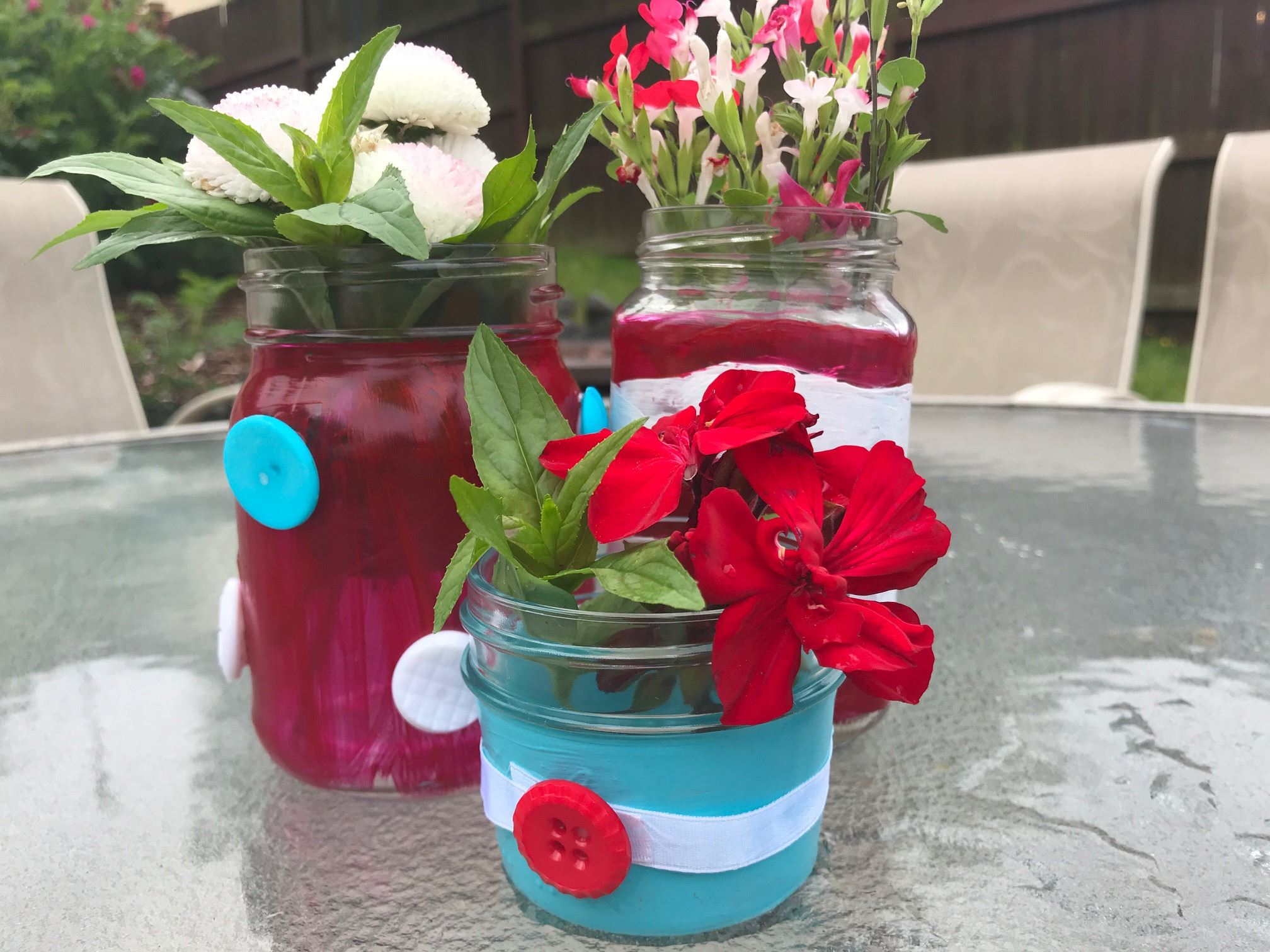 4th Mason Jar Decorations