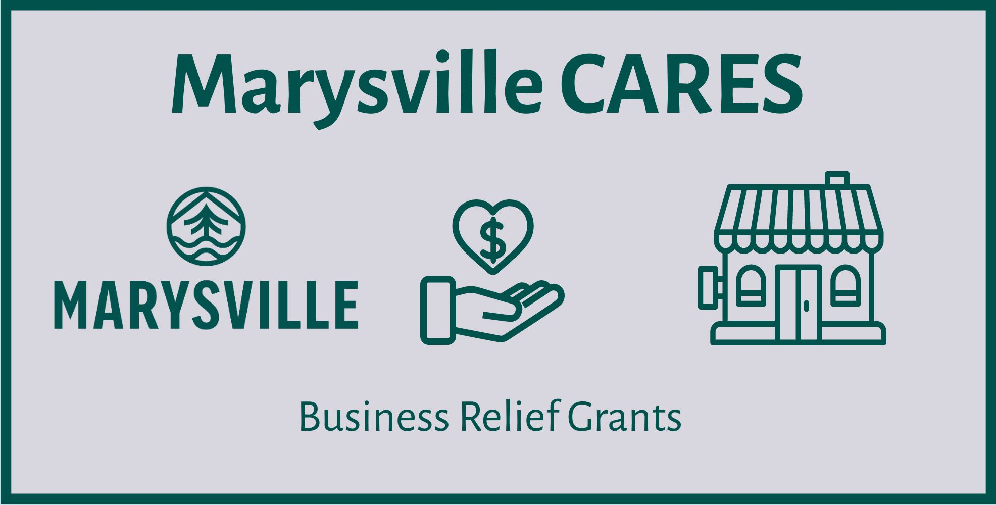 Marysville CARES business relief grants