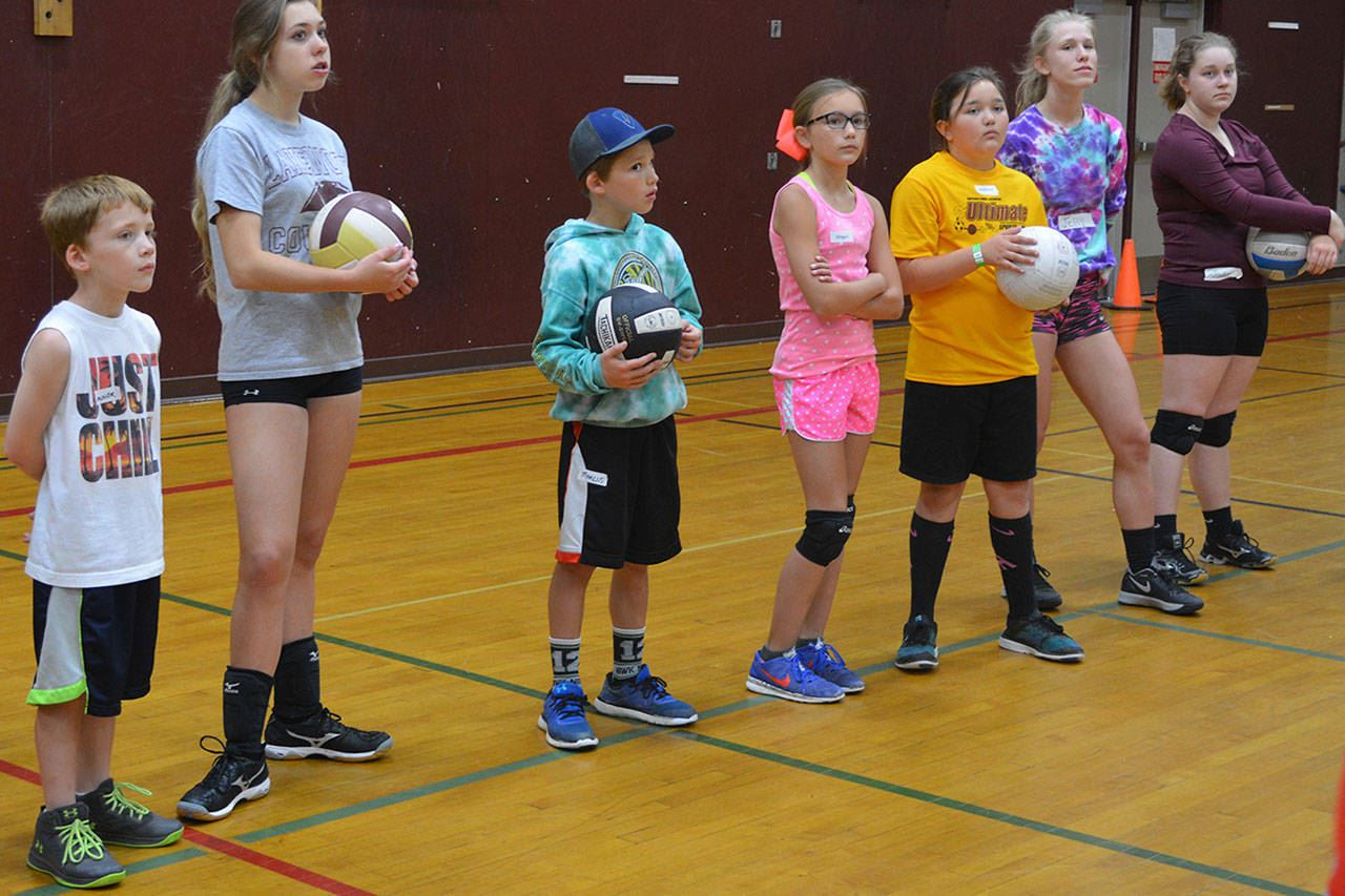 volleyball camp 1