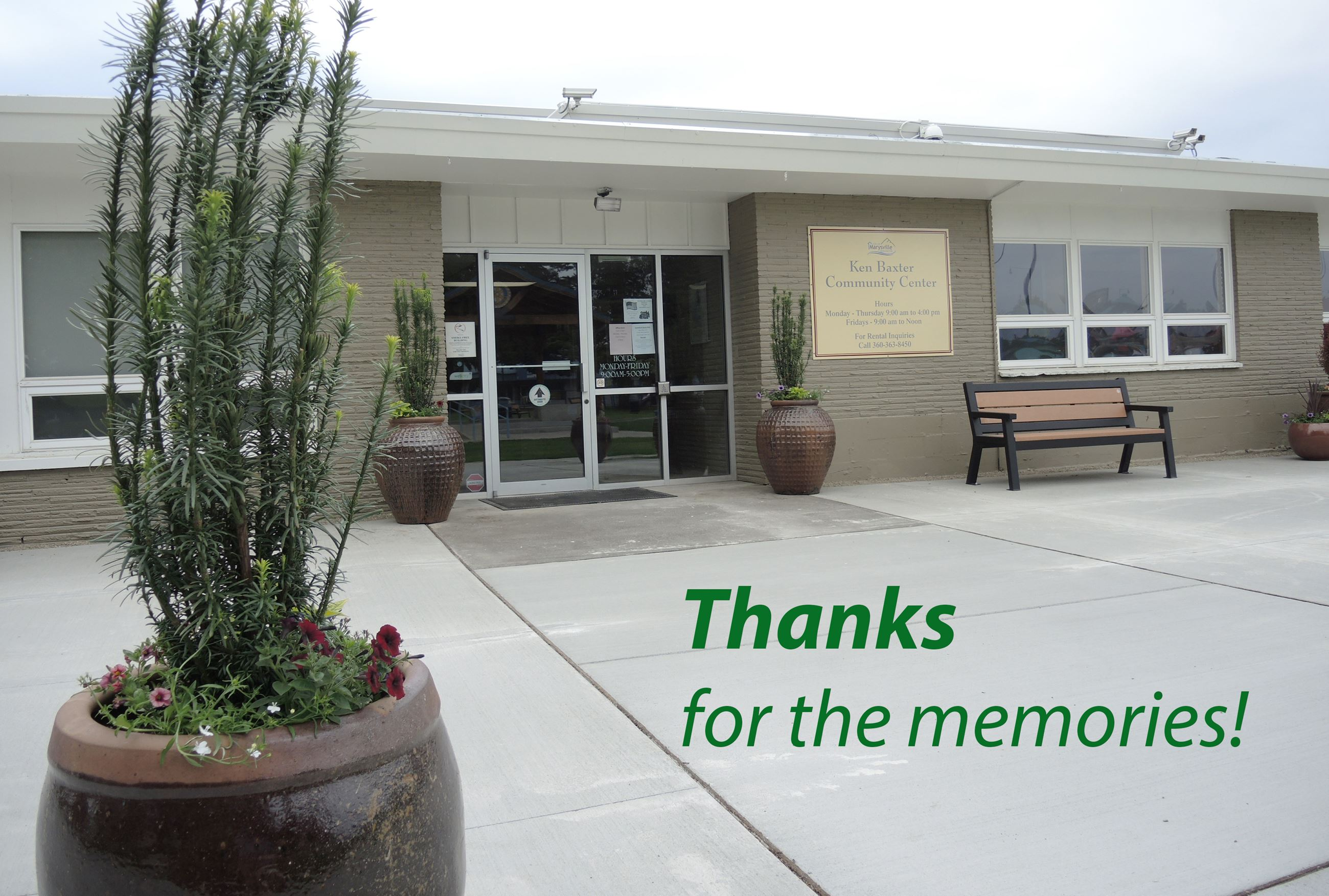 Ken Baxter Community Center: Thanks for the memories!