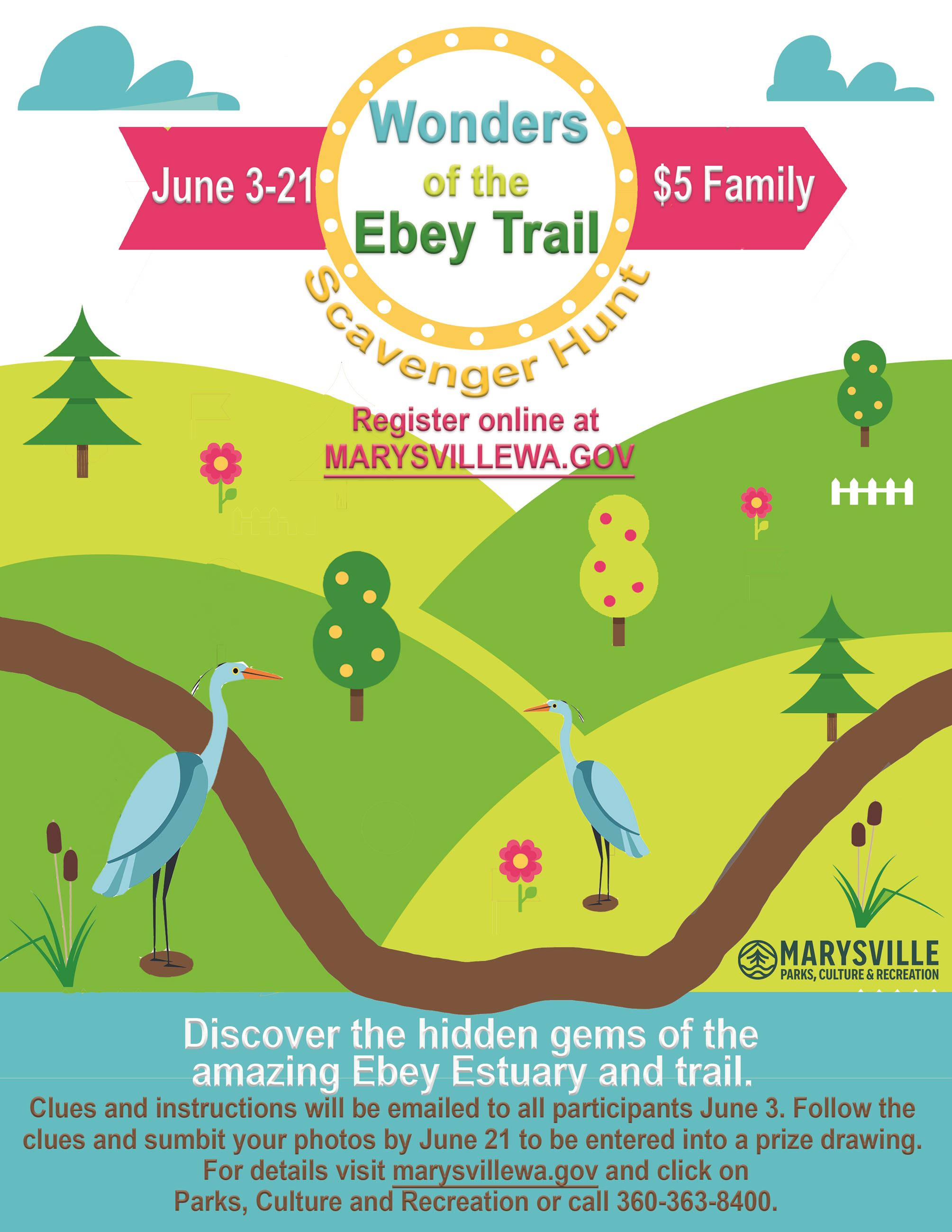 Wonders of the Ebey Trail FLYER