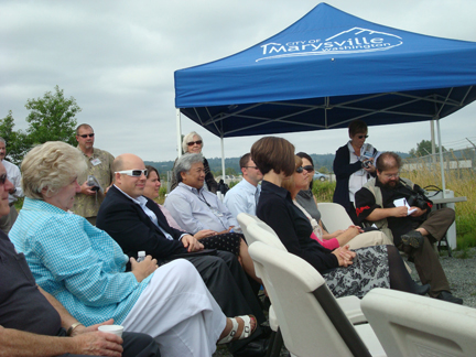 Key dignitaries attend the groundbreaking ceremony